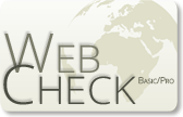 MABloo Webcheck Service