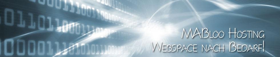 Hosting - Webspace nach Bedarf